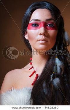 Native American Indian Eye Makeup - Mugeek Vidalondon