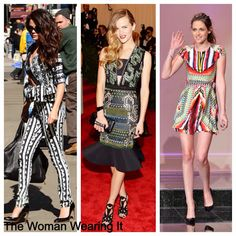 The Woman Wearing It #tribalprint #blogger #fashion