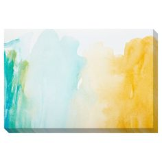 Strokes of Color Oversized Gallery Wrapped Canvas - Overstock™ Shopping - Image Dimensions: 32 inches high x 48 inches wide