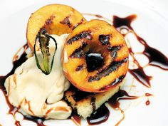 Peaches 'n' cream backyard BBQ-Dessert cooked on the grill? This recipe from Chris Krause of Hilton Head Island will show you how it's done
