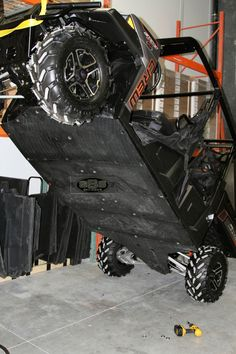 Polaris Ranger 900 Crew UHMW skid plate underbody SSS Off Road #POLARISRANGER900CREW Side By Side Accessories, Utv Accessories, Polaris Ranger Crew, Polaris General, Polaris Atv, Kawasaki Mule, Buggy, Atvs, Campers