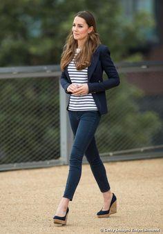 Kate Middleton a Londra, il 18 ottobre 2013.