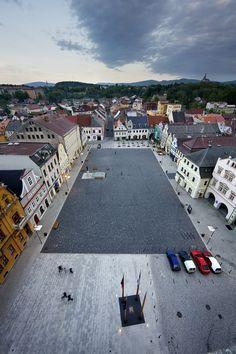 Reconstruction of the Square in Frydlant / Balda architeckt