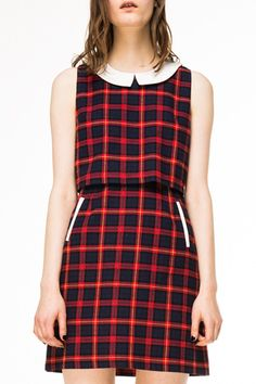 Plaid Kinkajou Dress