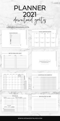 Planner Diario, Agenda Planner, Journaling, Download, Bujo, Getting Organized, Bullet Journal, Study, Organization