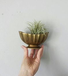 Brass Dish Brass Bowl Trinket Dish Vintage Ring Dish Catch