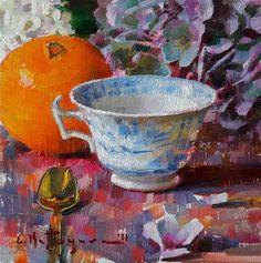 Tea Cup Art, Oil Painting Techniques, Fine Art Gallery, Teacups, Artist, Artwork, Image, Alice, Cozy