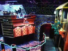 Our Two Story Laser Tag Arena
