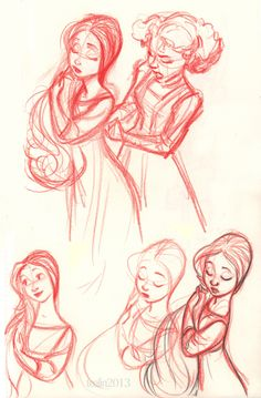Elf/Half-Elf Noble/Lady in Waiting Character Design Cartoon, Character Sketches, Character Drawing, Character Design Inspiration, Character Illustration, Illustration Art, Animation Character, Art Illustrations, Comic Character