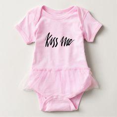 Always kiss me good night baby strampler