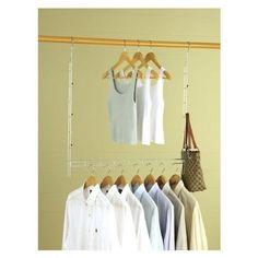 Closet Organizer Clothes Space Saver Expand Hanger Durable Double Adjustable