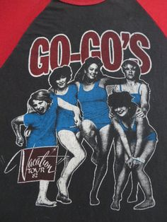GO GO's vintage 1982 tour T SHIRT
