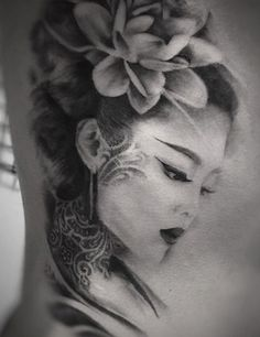 japanese tattoos for men Geisha Tattoos, Geisha Tattoo Sleeve, Geisha Tattoo Design, Japan Tattoo Design, Irezumi Tattoos, Tattoo Design Drawings, Sleeve Tattoos, Japanese Girl Tattoo, Japanese Tattoos For Men