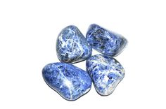 XL Sodalite Tumble Stones  Palm Stones  by DancingWithCrystals