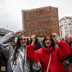 Féminisme (Notion radicalE selon laquelle les femmes sont des êtres humains) 2020-03-08 Paris #JourneeDeLaFemme #NousToutes #manifestation #report #gaelic69