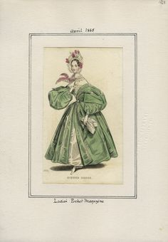 Ladies' Pocket Magazine v. 16, plate 128 April, 1835