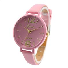 Colorful Genvivia Wristwatch - One Size - Assorted