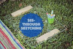 What a fun project to do with the kdis: See Through Sketching!
