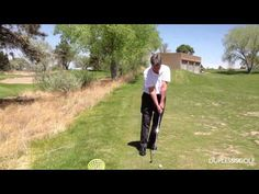 Golf Instruction Video - Trapping Impact Drill - Practice 50 yds Golf Instruction, New Golf, Hole In One, Golf Lessons, Golf Tips, Drill, Golf Courses, Mens Sunglasses, Muscle
