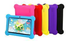 """DX758 8GB 7"""" Kids' Android Tablet with Case and Stylus: DX758 8GB 7"""" Kids' Tablet with Android OS/Protective Case/Stylus/Carrying Pouch/and Screen Protector"""