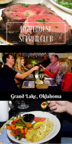 Lighthouse Supper Club - fine dining overlooking Grand Lake.