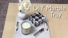 DIY Marble Coffee Table Tray Holder Home Decor Living Room Decor Minimalist Project Gift Affordable Cheap and Easy