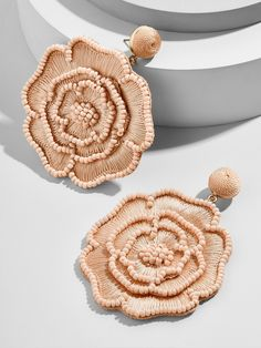Melvina Flower Drop Earrings