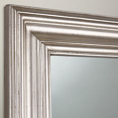 Buy John Lewis Hall Mirror, 132 x 102cm, Silver Online at johnlewis.com