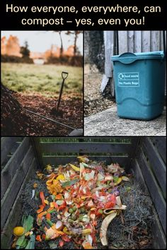 Give your yard rich organic waste with this easy guide to making natural compost.