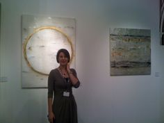 Takefumi Hori's works at Francesca Fiumano's stand http://www.fiumanofineart.com/ #2014