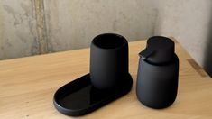 Black Bathroom Accessories Collection | Natural Bed Company Modern Bathroom Accessories, Bed Company, Small Tray, Soap Pump, Soap Dispenser, Tumbler, Container, Pumps, Collection