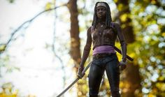 Michonne and her Sword!!!