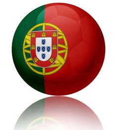 Portugal flag ball  by William Rossin