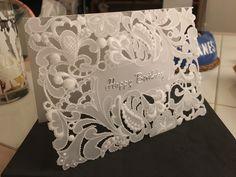 Parchment craft birthday card