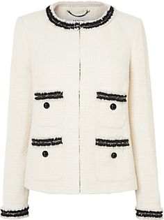 L.K. Bennett Charl Boucle Tailored Jacket, Multi