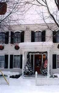 Bed And Breakfast Inn During The Holiday's.