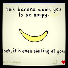Haha Love any banana humor :)