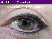 Photo Gallery of Permanent Eyeliner Makeup by Lynn Duncan Permanent Cosmetics