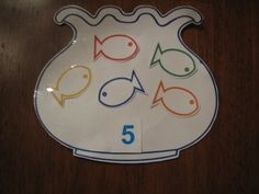 fish activities for preschool | ... bag then counted the correct number of fish to put into the fish bowl