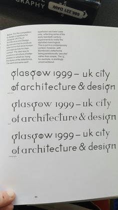 Typography book wgtn library