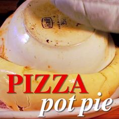 This pizza pot pie, though... Any volunteers to dive in?