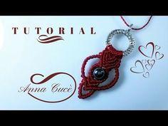 "Tutorial macrame pendant  "" Tiziana "" /  Diy tutorial - YouTube"