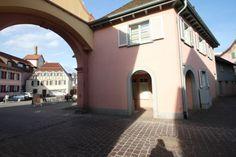 <3 Ettenheim, Haus, barocke Altstadt am Stadttor, 95qm Wohnung  mit Laden und Nebengebäude, 255.000 €