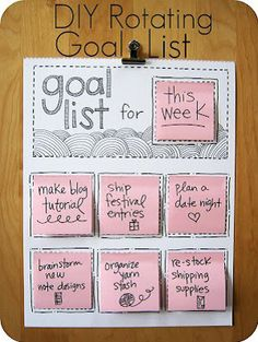 Keeping track of long-term goals is not an impossible task. The ones recommended by this Evanston Maid Service are a bit more fun, which makes it more likely that you'll use them and happily cross things off of your list – or remove them from your board – when they've been completed.