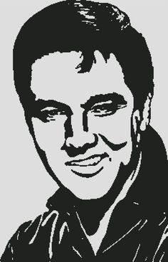 New Custom Screen Printed T-shirt Elvis Portrait Music Small - 4 Stencil Patterns, Stencil Art, Stencils, Stencil Designs, Pop Art, Custom Screen Printing, Wood Burning Patterns, Scroll Saw Patterns, Silhouette Art