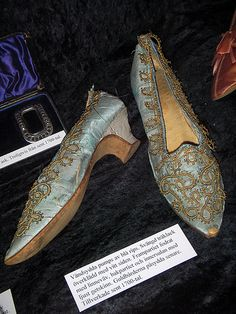 Shoes, late 18th century
