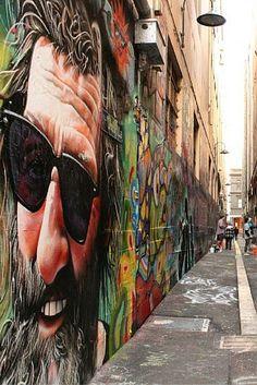 Melbourne's Street Art in Union Lane