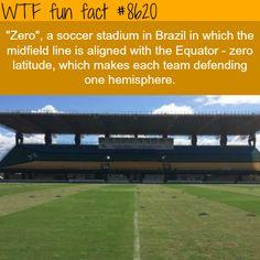Zero Football Stadium - WTF fun facts