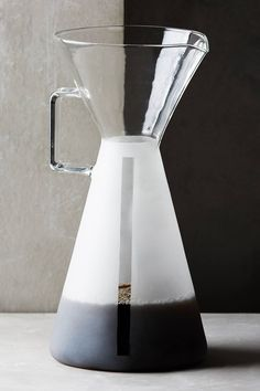 A Glamorous Little Sister for the Chemex Coffee Maker
