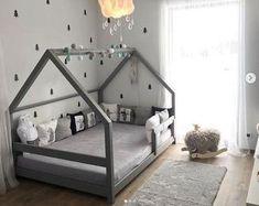 Bed Frame Plans, Diy Bed Frame, Bed Plans, Twin Bed Frames, Toddler Floor Bed, Toddler House Bed, Diy Toddler Bed, Baby Floor Bed, Toddler Beds For Boys